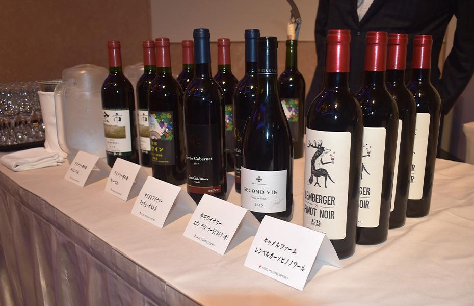 Yoichi-based wines